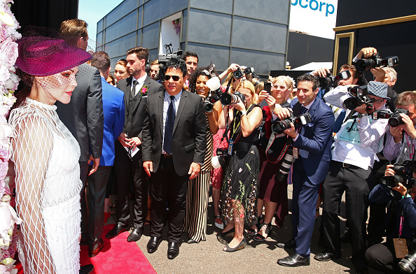 Melbourne Cup Carnival「Celebrities Attend Oaks Day」:写真・画像(17)[壁紙.com]