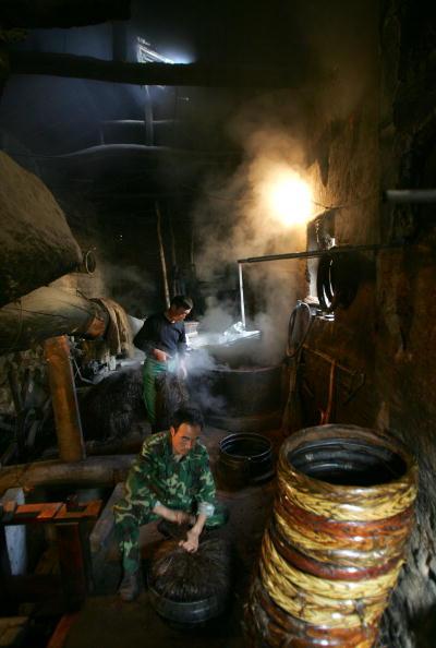 蒸し「Traditional Oil Workshop In Xian」:写真・画像(7)[壁紙.com]