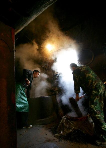 蒸し「Traditional Oil Workshop In Xian」:写真・画像(16)[壁紙.com]