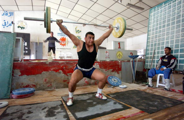 Weights「Iraqi Weightlifters Prepare  For The Olympics」:写真・画像(7)[壁紙.com]