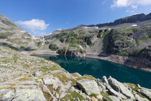 Remote Location「Austria, Carinthia, Obervellach, Upper Tauern, Reisseckgruppe, Kleiner Muehldorfer See」:スマホ壁紙(15)