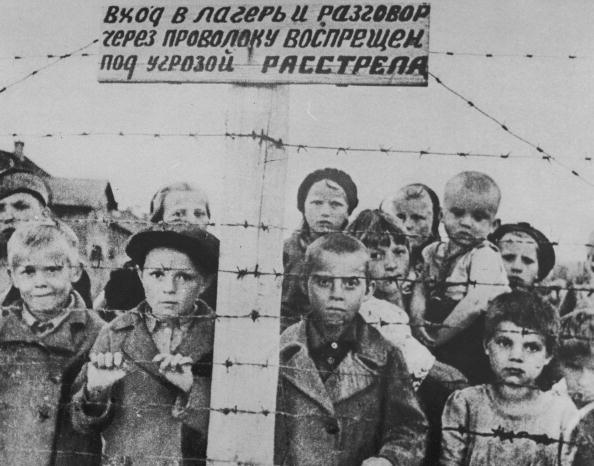 Concentration Camp「Orphaned Russian Children In Concentration Camp, c. 1942.」:写真・画像(6)[壁紙.com]