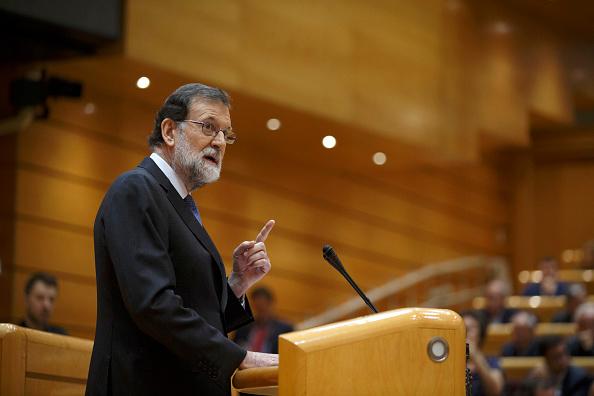 Mariano Rajoy Brey「Spanish Prime Minister Addresses The Senate Over Catalan Independence Crisis」:写真・画像(7)[壁紙.com]