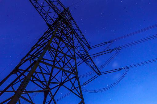 Electricity Pylon「Sky」:スマホ壁紙(17)