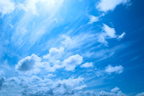 雲「スカイ」:スマホ壁紙(7)