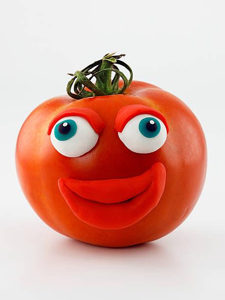 トマトのポートレート:スマホ壁紙(壁紙.com)