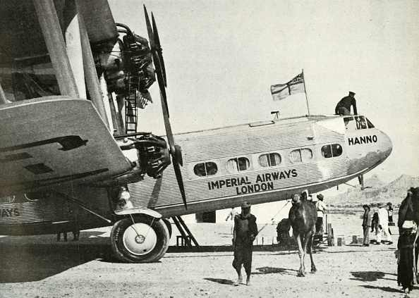 Propeller Airplane「Imperial Airways Handley-Page Hp 42 Biplane Hanno」:写真・画像(6)[壁紙.com]