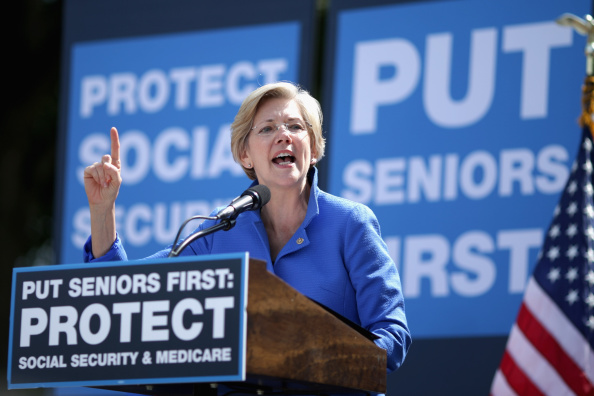 Speech「Democratic Leaders Address Rally In Support Of Social Security And Medicare」:写真・画像(10)[壁紙.com]