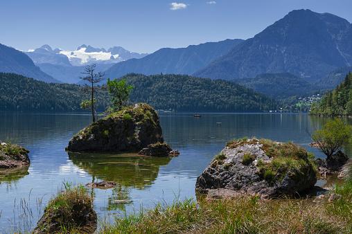 Dachstein Mountains「Landscape in Salzkammergut, Austria」:スマホ壁紙(5)