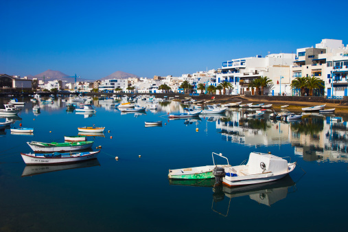Atlantic Islands「Landscape in Arrecife Lanzarote.」:スマホ壁紙(7)