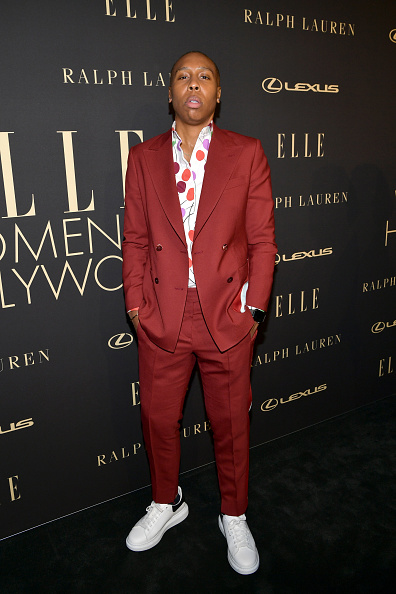 Hollywood - California「ELLE's 26th Annual Women In Hollywood Celebration Presented By Ralph Lauren And Lexus - Arrivals」:写真・画像(8)[壁紙.com]