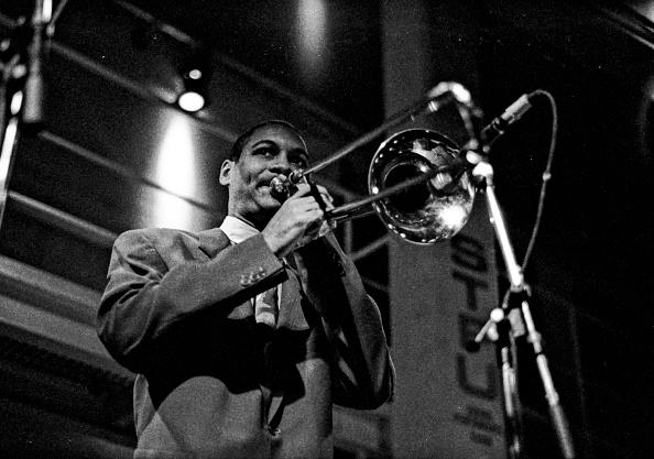 Musical instrument「Delfeayo Marsalis, Jazz Cafe, Camden, London, October 1992」:写真・画像(17)[壁紙.com]