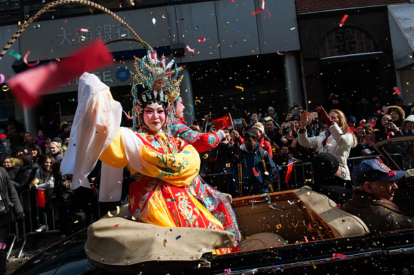 Chinese New Year「Annual Chinese New Year Parade Held In Manhattan's Chinatown」:写真・画像(9)[壁紙.com]