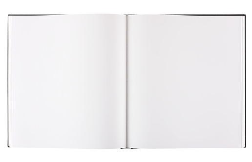 Open「Large format blank coffee table book with clipping path.」:スマホ壁紙(13)