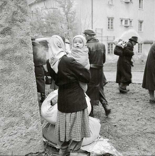 ハンガリー「Hungarian Revolution: Mother and Child in a refugee camp, Austria, Photograph, 1956」:写真・画像(17)[壁紙.com]