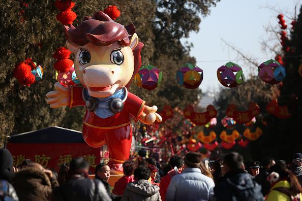 お祭り「China Celebrate The Lunar New Year Of The Horse」:写真・画像(1)[壁紙.com]
