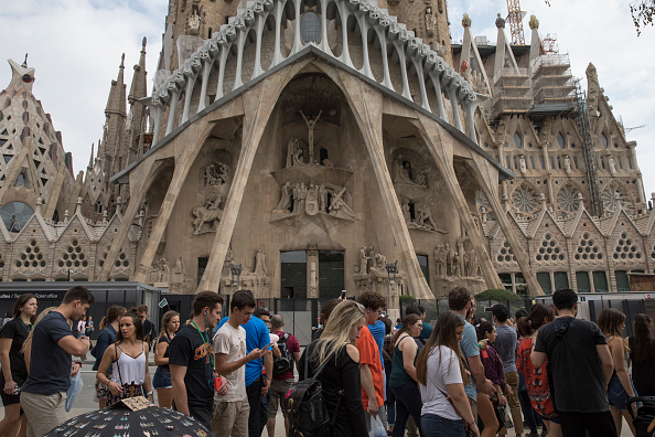 Sagrada Familia - Barcelona「Aftermath Of The Catalonian Independence Referendum」:写真・画像(7)[壁紙.com]