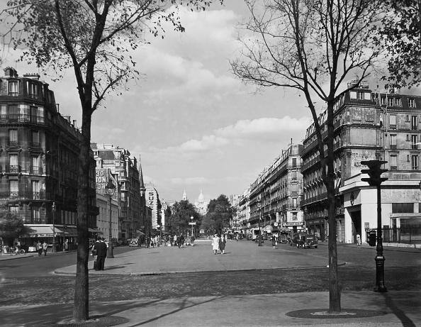 モノクロ「Boulevard De Courcelles」:写真・画像(10)[壁紙.com]