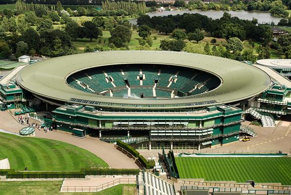 Stadium「No 1 Court, All England Lawn Tennis Club, Wimbledon, London, UK, 2008, elevated view」:写真・画像(9)[壁紙.com]