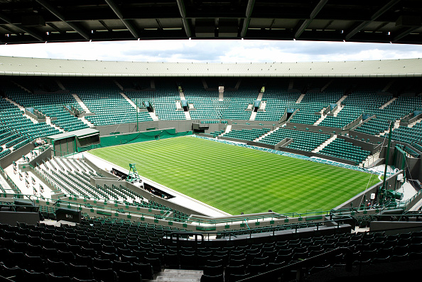 Empty「No 1 Court, All England Lawn Tennis Club, Wimbledon, London, UK, 2008」:写真・画像(2)[壁紙.com]