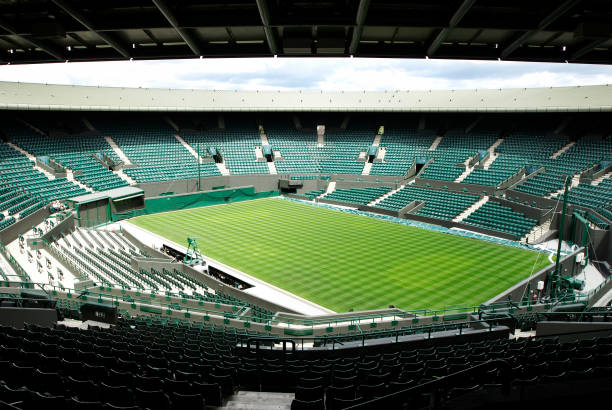 No 1 Court, All England Lawn Tennis Club, Wimbledon, London, UK, 2008:ニュース(壁紙.com)