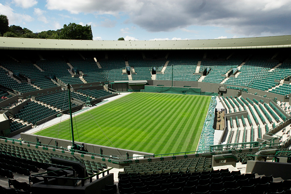 Empty「No 1 Court, All England Lawn Tennis Club, Wimbledon, London, UK, 2008」:写真・画像(4)[壁紙.com]