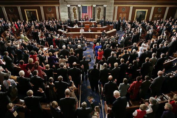 General View「110th U.S. Congress Is Sworn In」:写真・画像(16)[壁紙.com]