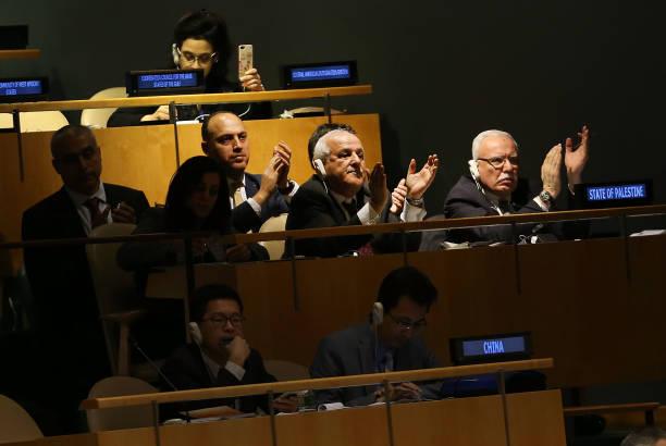 United Nations General Assembly「UN General Assembly Votes On Resolution Condemning US On Jerusalem Decision」:写真・画像(15)[壁紙.com]