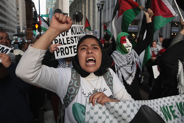Palestine「Activists Demonstrate Against Israel's Actions Against Palestinians In Gaza」:写真・画像(12)[壁紙.com]
