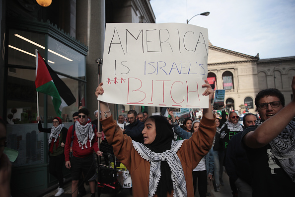 Israel-Palestine Conflict「Activists Demonstrate Against Israel's Actions Against Palestinians In Gaza」:写真・画像(8)[壁紙.com]