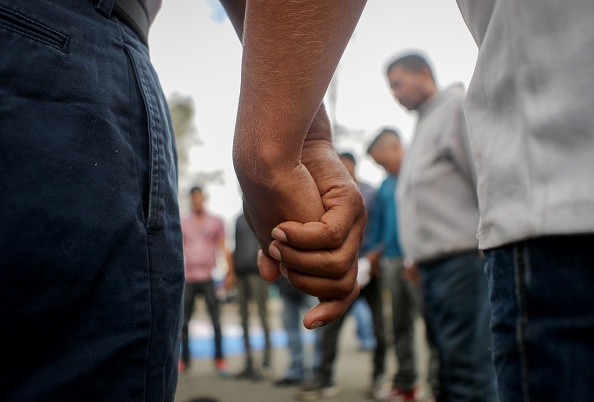 Baja California Peninsula「Immigrant Caravan Members Gather At U.S.-Mexico Border」:写真・画像(18)[壁紙.com]