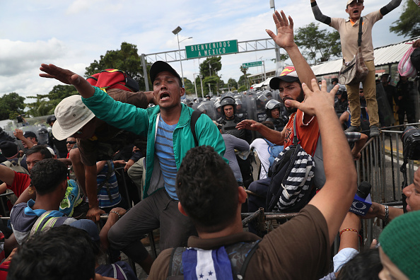 Guatemala「Migrant Caravan Crosses Into Mexico From Guatemala」:写真・画像(14)[壁紙.com]