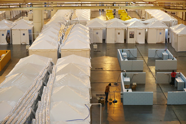 Louisiana「Medical Monitoring Station For Coronavirus Patients Set Up At Morial Convention Center」:写真・画像(16)[壁紙.com]