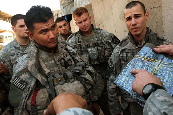 Emotional Stress「American Troops Patrol in Southern Baghdad」:写真・画像(7)[壁紙.com]