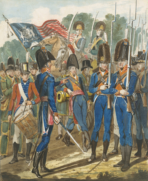 Topics「Members Of The City Troop And Other Philadelphia Soldiery」:写真・画像(5)[壁紙.com]