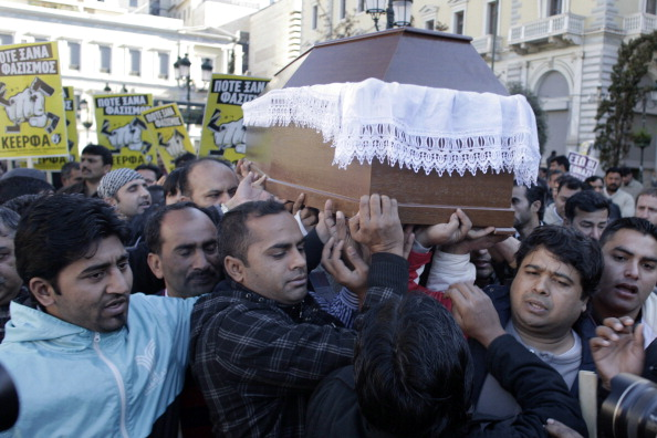 Minority Groups「Immigrant Fatal Stabbing Prompts Community Anti-Racism Protests In Athens」:写真・画像(18)[壁紙.com]
