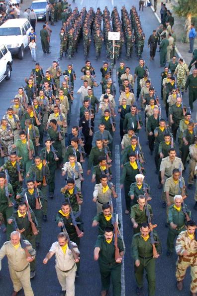 Baath Party「Iraqi Militia Prepares 」:写真・画像(19)[壁紙.com]