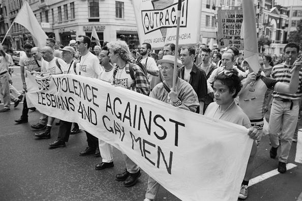 Lesbian「OutRage! At Pride」:写真・画像(9)[壁紙.com]