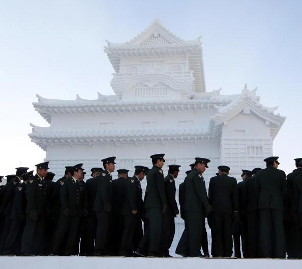 Mombetsu Ice Festival「Sapporo Snow Festival Preparation」:写真・画像(8)[壁紙.com]