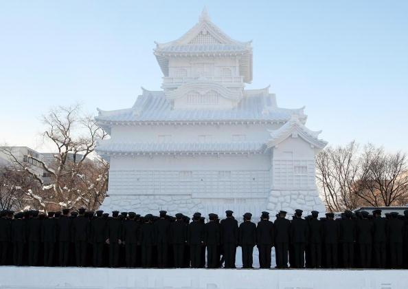 Mombetsu Ice Festival「Sapporo Snow Festival Preparation」:写真・画像(6)[壁紙.com]