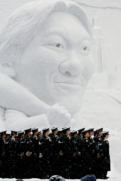 Mombetsu Ice Festival「Sapporo Snow Festival To Open In Japan」:写真・画像(1)[壁紙.com]