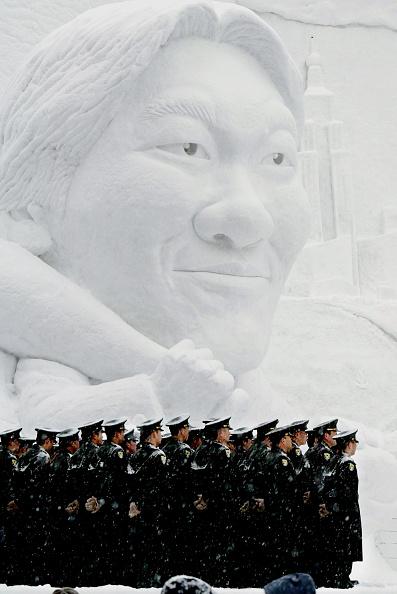 Hideki Matsui「Sapporo Snow Festival To Open In Japan」:写真・画像(3)[壁紙.com]