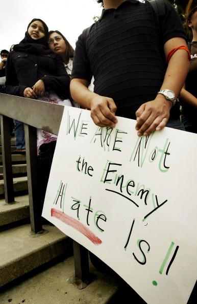 Hate Crime「Arab Students Rally At UC Irvine」:写真・画像(19)[壁紙.com]