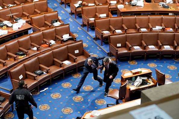 Electoral College「Congress Holds Joint Session To Ratify 2020 Presidential Election」:写真・画像(9)[壁紙.com]