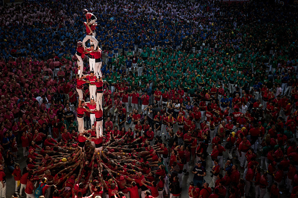 Bestpix「Human Towers Are Built In The Tarragona Castells Competition」:写真・画像(4)[壁紙.com]