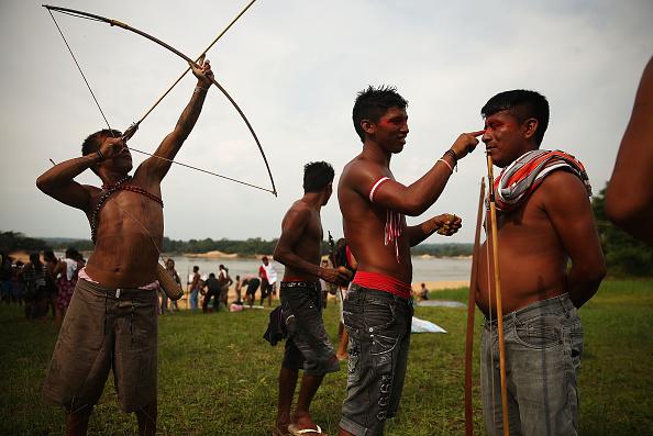 Tropical Rainforest「Indigenous Tribes Protest Dam Construction In Brazil's Amazon」:写真・画像(10)[壁紙.com]