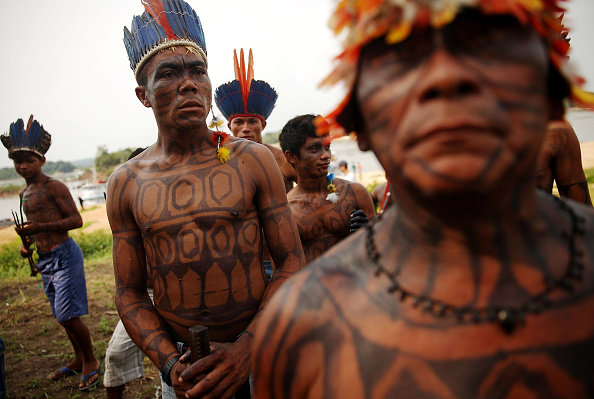 Indigenous Culture「Indigenous Tribes Protest Dam Construction In Brazil's Amazon」:写真・画像(0)[壁紙.com]