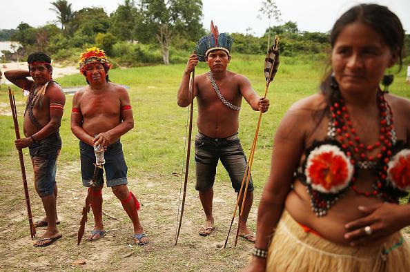 Amazon Rainforest「Indigenous Tribes Protest Dam Construction In Brazil's Amazon」:写真・画像(19)[壁紙.com]