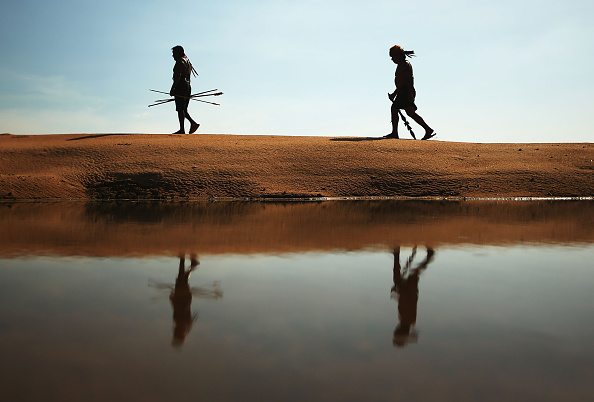 Para State「Indigenous Tribes Protest Dam Construction In Brazil's Amazon」:写真・画像(9)[壁紙.com]
