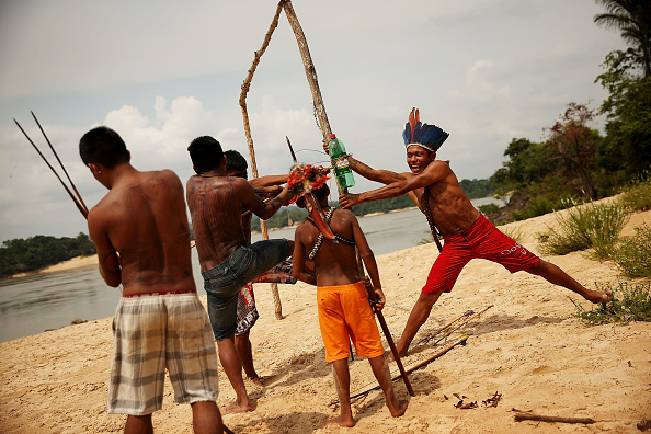 Environmental Conservation「Indigenous Tribes Protest Dam Construction In Brazil's Amazon」:写真・画像(4)[壁紙.com]